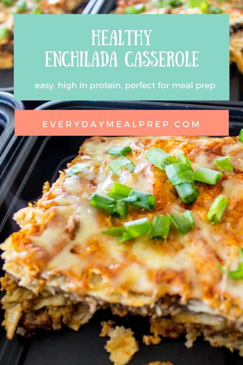 Healthy Enchilada Casserole