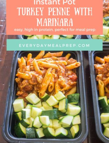 Instant Pot Turkey Penne with Marinara