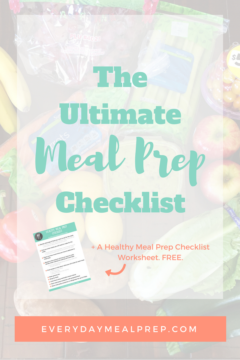 Ultimate Meal Prep Checklist